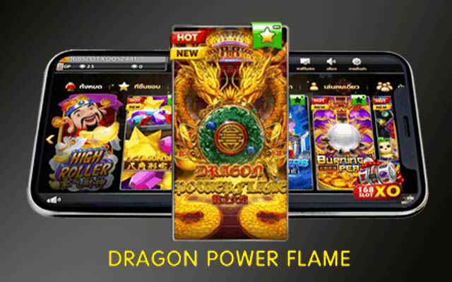 Dragon Power Flame